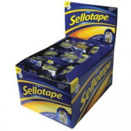Sellotape Super Clear 18mmx10m [Pack of 50]