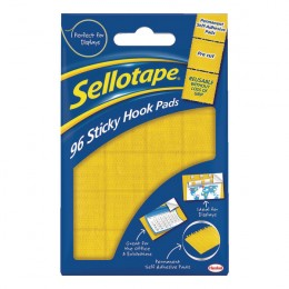 Sellotape Sticky Hook Pads [Pack of 96]