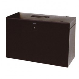 Cathedral Metal Home Office File A4 Black