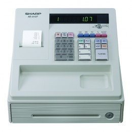 Sharp Cash Register White