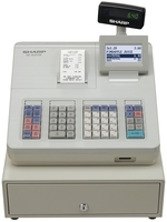 Sharp XEA207W Cash Register Grey
