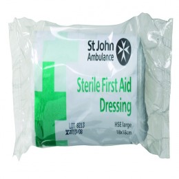 St John Ambulance Large Dressing 180x180mm