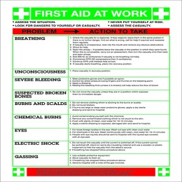 Safety Sign:First Aid At Work