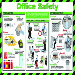 General Sign:Office Safety 420x590mm
