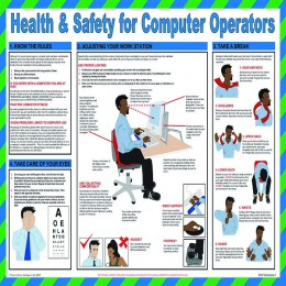 General Sign:Health and Safety Computer Operators 420x590mm