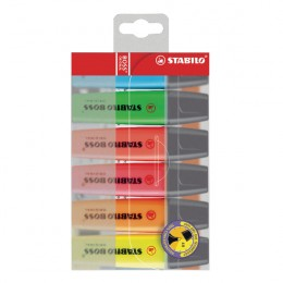 Stabilo BOSS Original Highlighters Assorted [Pack of 6]
