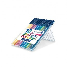 Staedtler Triplus Color Pens Assorted [Pack of 10]