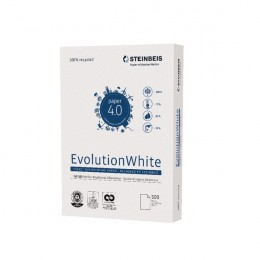 Steinbeis Evolution Recycled A4 Copier Paper 80GSM White [Pack of 2500]
