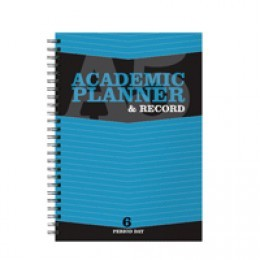 Silvine A5 Teachers Academic Planner 6 Period for 204 Days