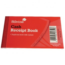 Silvine 228 Receipt Duplicate Book 2.5x4 Inches Single Book