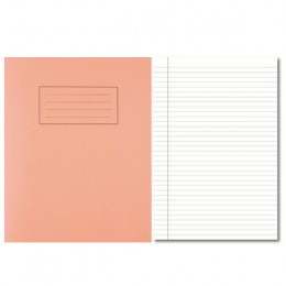 Silvine 9x7 Inch Exercise Books 5mm Square Orange [Pack of 10]