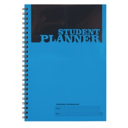 Silvine A5 Planner Record Polypropylene Cover Blue [Pack of 10]