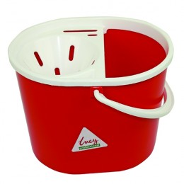 Lucy 15 Litre Red Mop Bucket