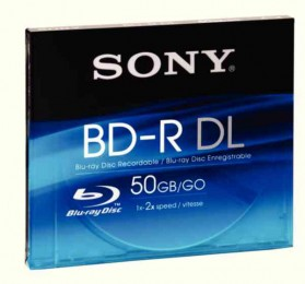Sony Blu-Ray 50Gb Write Once