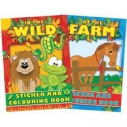 Tallon Colouring And Sticker Book [Pack of 12]
