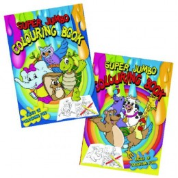 Tallon Super Jumbo Colouring Book [Pack of 6]