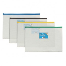 Zip Bag A4 [Pack of 12]