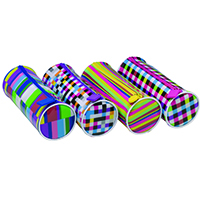Kaleidoscope Pencil Case Assorted [Pack of 12]