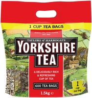 Yorkshire 1 Cup Tea Bags [Pack of 600]