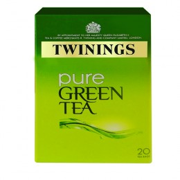 Twinings Pure Green Infusions Tea [Pack of 20]