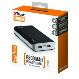 Primo Power Bank 8800 Portable Charger Black