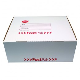 Post Office Postpak Large Parcel Box White/Red 891-5787 Pack 20