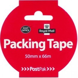 Postpak Packing Tape Buff 50mmx66m [Pack of 24]