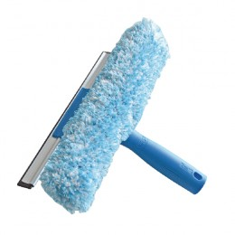 Unger 2-in-1 Window Combi Squeegee and Scrubber 250mm [Pack of 5]