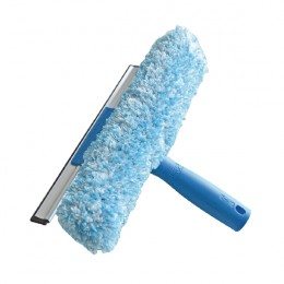 Unger 2-in-1 Window Combi Squeegee and Scrubber 350mm [Pack of 5]