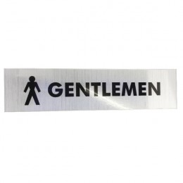 Acrylic Sign:Gents 190x45mm