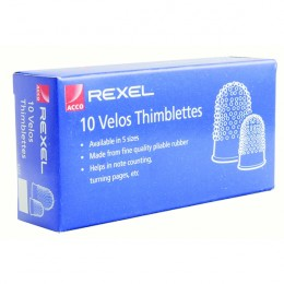 Velos Thimblette Size 00 [Pack of 10]