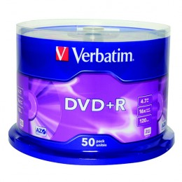 Verbatim DVD+R 16x [Spindle of 50]