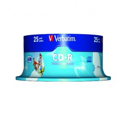 Verbatim CD-R 700Mb, 80 Minute [Pack of 25]