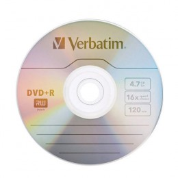Verbatim DVD+R 16x 4.7Gb [Spindle of 25]