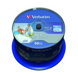 Verbatim Blu-Ray 25Gb 6x Inkjet Printable [Spindle of...