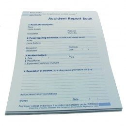 Wallace Cameron Accident Report Book A5