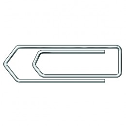Essentials Paperclips Jumbo 45mm [Pack of 100]