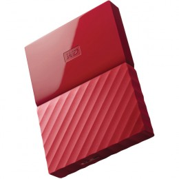 WD My Passport Portable Hard Drive 1TB Red
