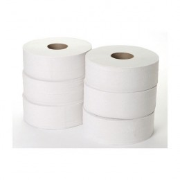 Jumbo Toilet Roll 2-Ply 300m [Pack of 6]