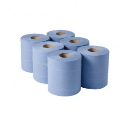 Centrefeed 1-Ply Blue 180mmx288m [Pack of 6]