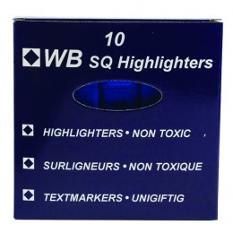 HiGlo Highlighter Blue [Pack of 10]
