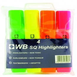 Highlighters Assorted [Pack of 4]