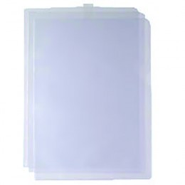 Cut Flush Folders [Pack of 100]