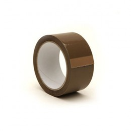Packaging Tape 50mmx66m Buff [Pack of 6]