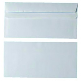 Envelopes Self Seal DL 80g White [Pack of 1000]