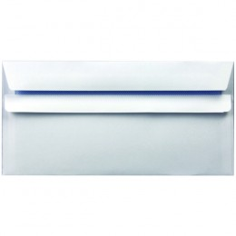 Envelopes Self Seal DL 90g White [Pack of 1000]