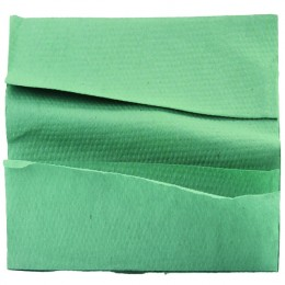 C Fold Hand Towel 1-Ply Green [Pack of 2880]