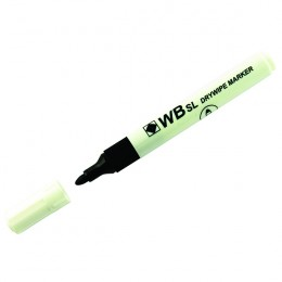 Whiteboard Marker Bullet Black [Pack of 10]