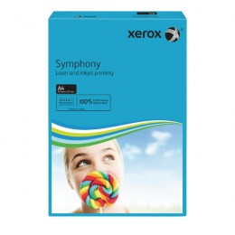 Xerox A4 Symphony Tinted 80gsm Dark Blue Copier Paper [Pack of 500]