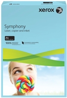 Xerox Symphony A4 80g Ream Mid Blue [Pack of 500]